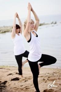 Anna balansera yoga